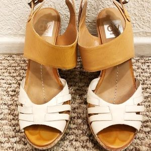 USED DV by Dolce Vita Cork Wedges - Size 7.5